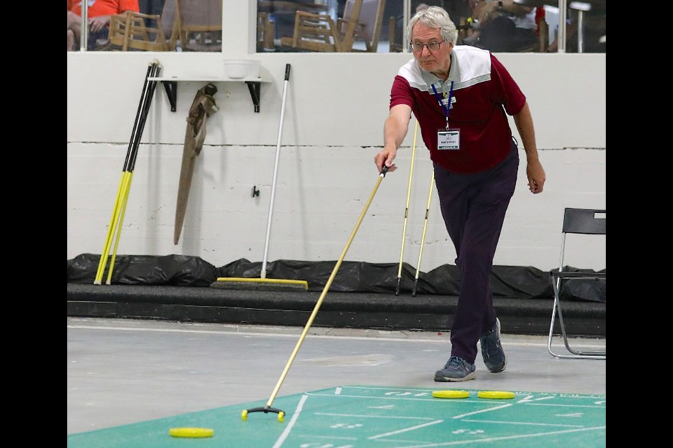 Doug Campbell (pictured) is helping oversee the 2019 Cochrane Senior Sports Day Sept. 21.  File Photo/Rocky View Publishing