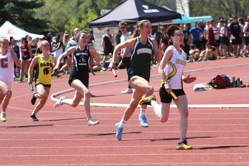 Dozens of high school athletes from Rocky View County gave it their all at the 2019 South Central Zones track and field meet, held May 22 in Calgary. 