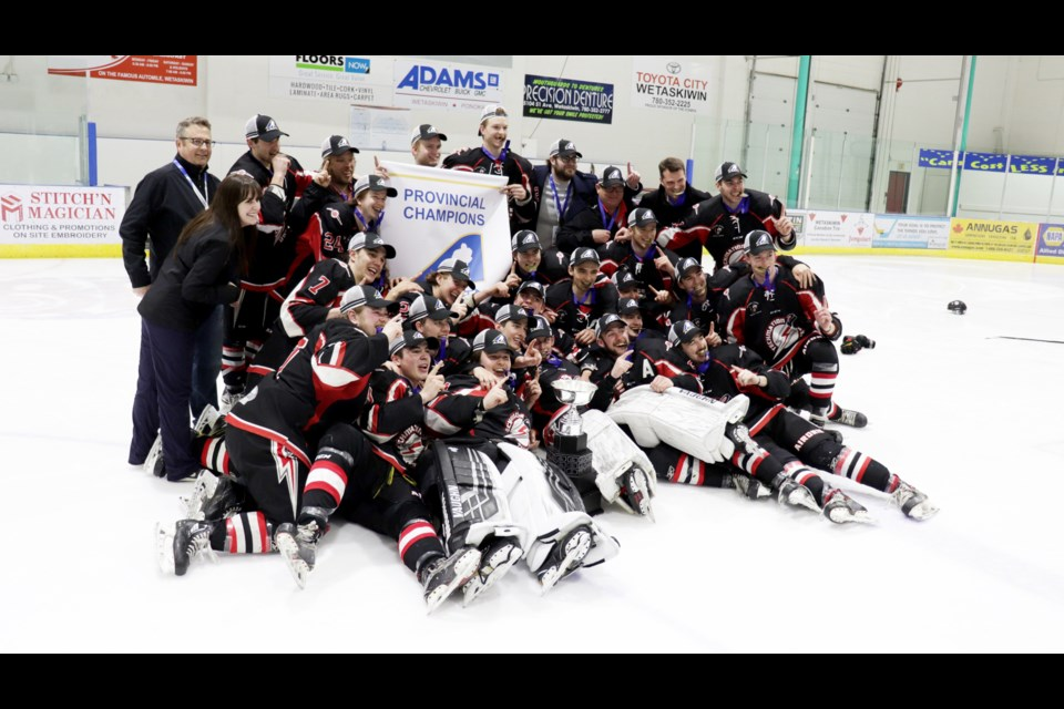 The Airdrie Thunder won its first-ever provincial title in April, downing the Wainwright Bisons in overtime April 7 to secure the Junior B Provincial championship. Ten weeks later, the team held its player awards banquet.