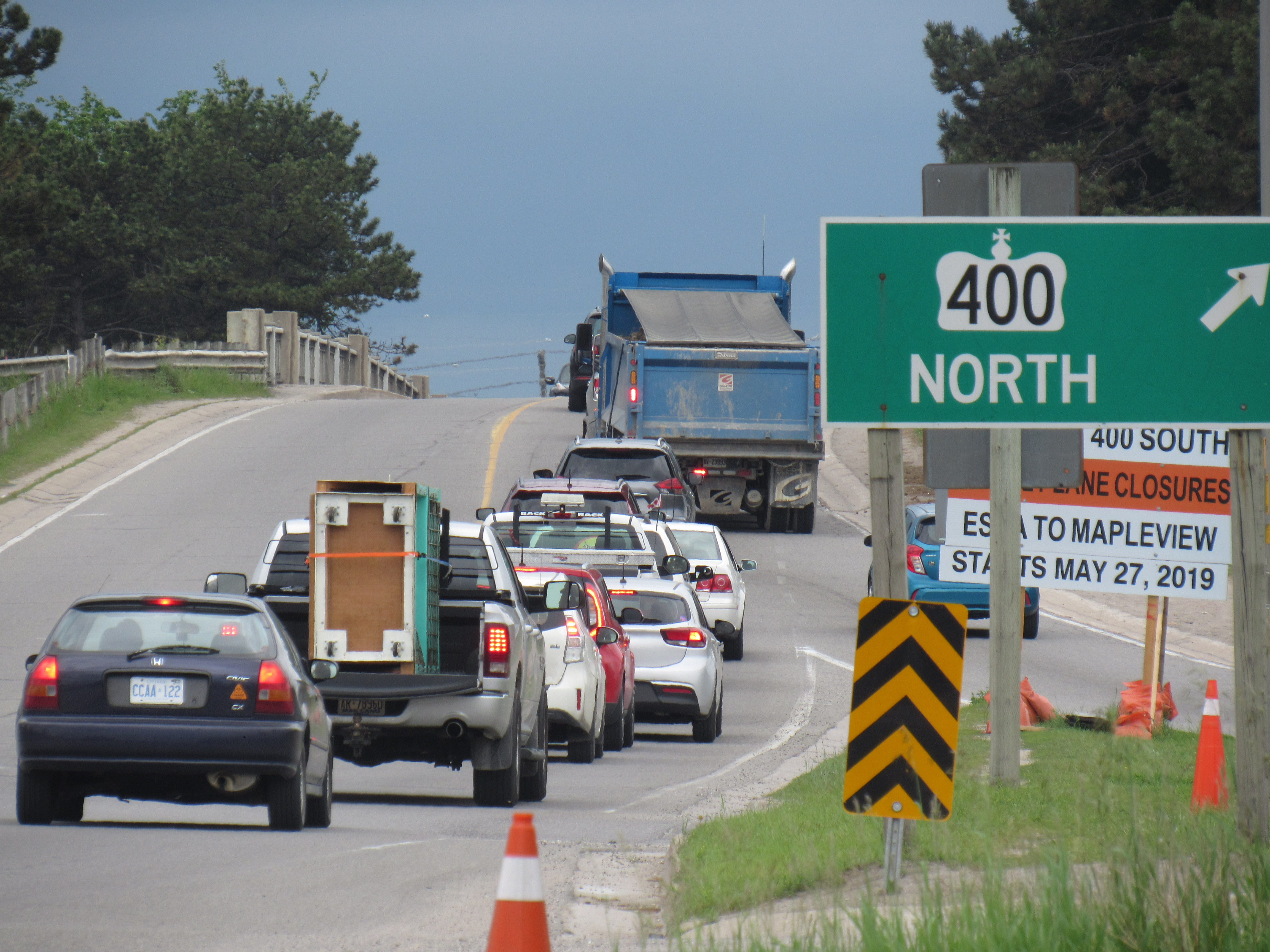 Highway 400, Dunlop widening looks to solve 'critical