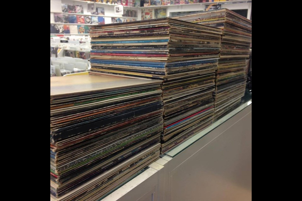 BJ's Records in Barrie has just processed a 1,700 piece collection to add to their inventory of rock, jazz and blues vinyl.