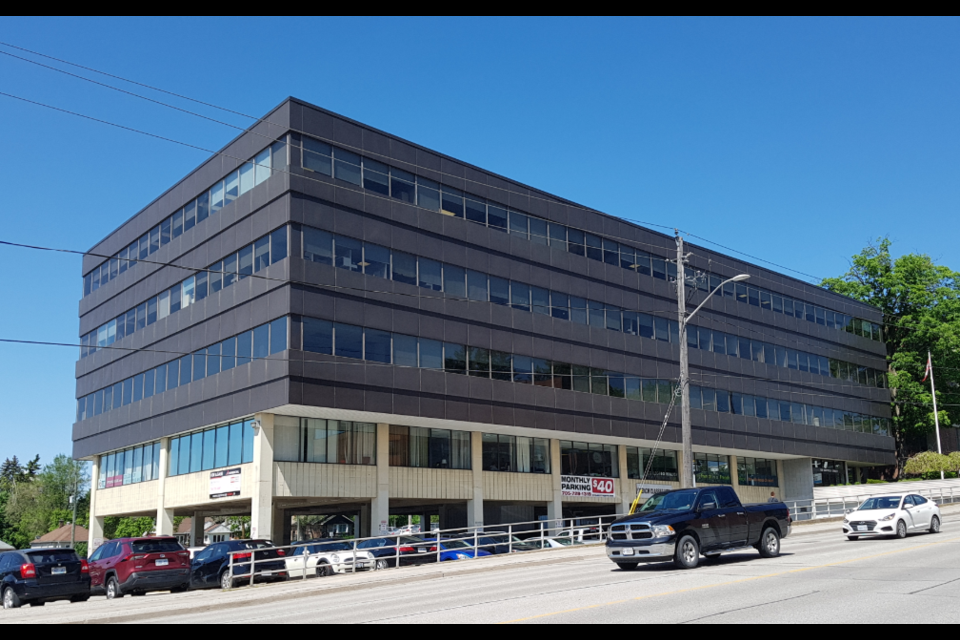 The County of Simcoe is close to approving $82,000 in funding for security at the Ontario Works building at 136 Bayfield St. Shawn Gibson/BarrieToday