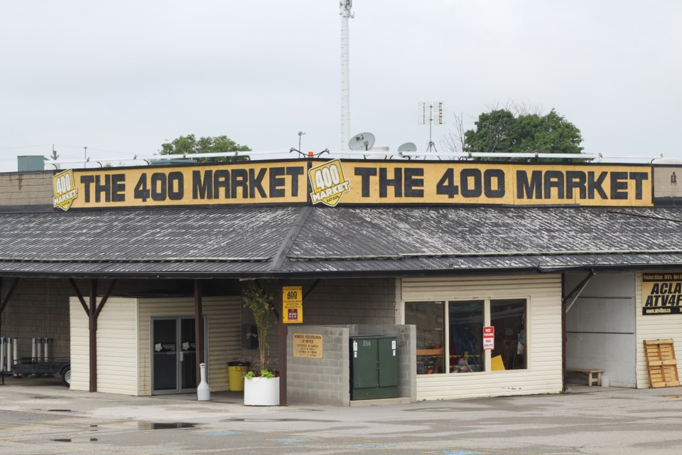 The 400 Market in Innisfil was robbed of thousands of dollars in jewelry during a recent break-in. Raymond Bowe/BarrieToday