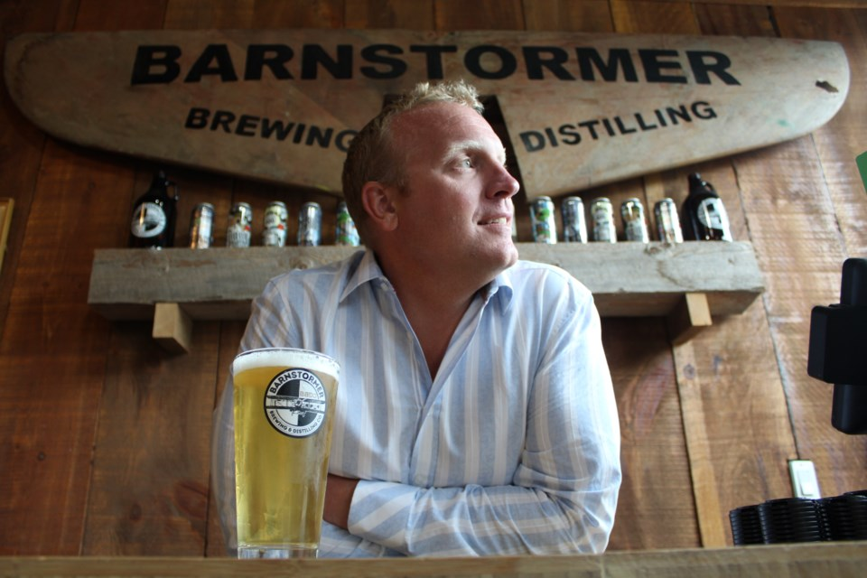 Barnstormer president Dustin Norlund at his Yonge Street establishment. Raymond Bowe/BarrieToday
