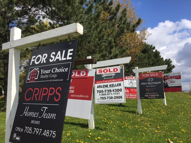 Barrie Real Estate Signs