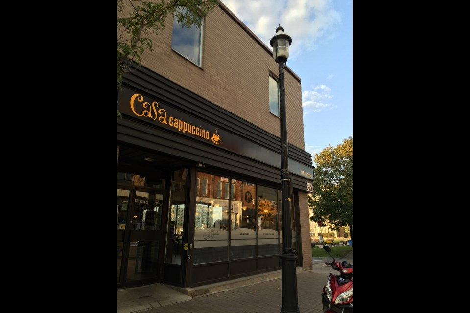 BarrieToday is offering free coffee from 6:30 a.m. to 10 p.m. at Casa Cappuccino located at 91 Dunlop Street East on Wednesday. Sue Sgambati/BarrieToday