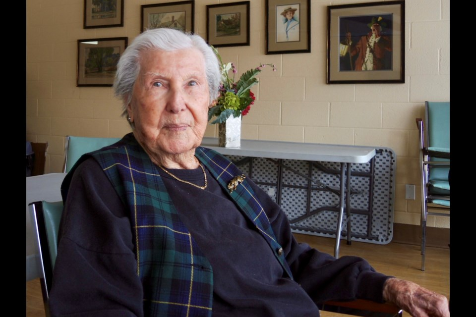 Sharp, independent Bette Northover, 97, says she's lucky and doesn't feel lonely but is glad Senior Wish can help seniors who are isolated.     Sue Sgambati/BarrieToday
