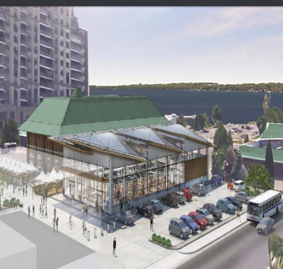 Proposed Year Round Public Market Focal Point For Tourism