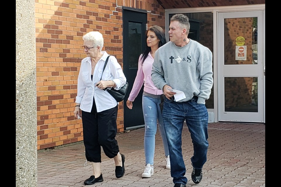 Some of Dana Camber's family members leave court on Tuesday solemn after her killer, James Garthwaite, was sentenced to 10 years in jail minus time served. Jessica Owen/BarrieToday