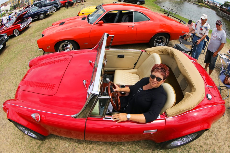 Classics In The Park Car Show Attracts Cars From All Over North - American heritage car show