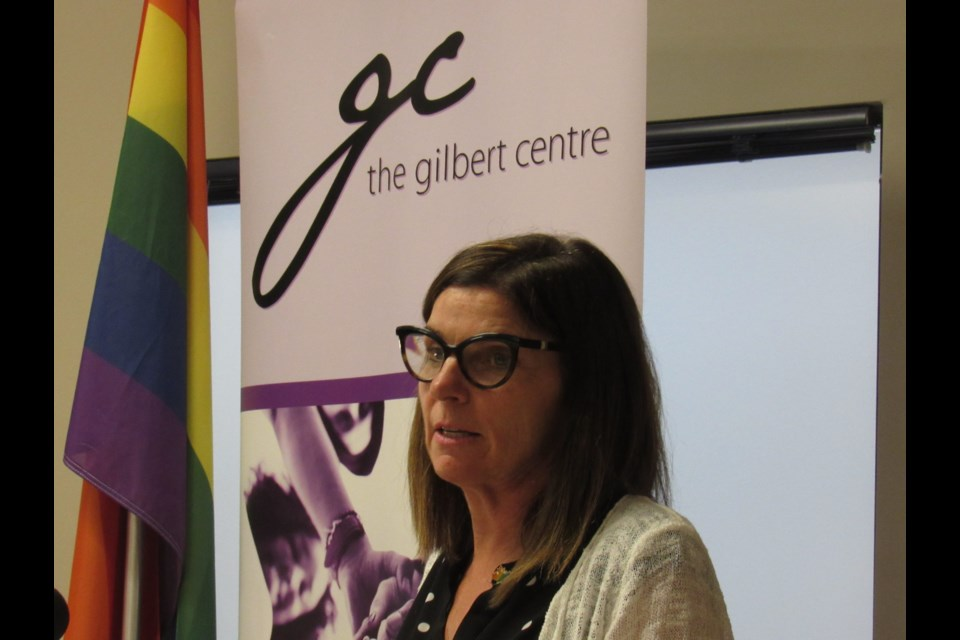 Minister of Seniors, Filomena Tassi, announced federal funding for LGBTQ2 seniors in central and northeastern Ontario Monday during a stop at the Gilbert Centre. Shawn Gibson/BarrieToday