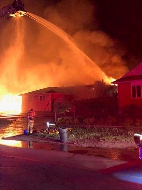 Barrie Fire battles a blaze on Edgehill Drive,Monday June 10, 2019. Photo courtesy of David Cooper