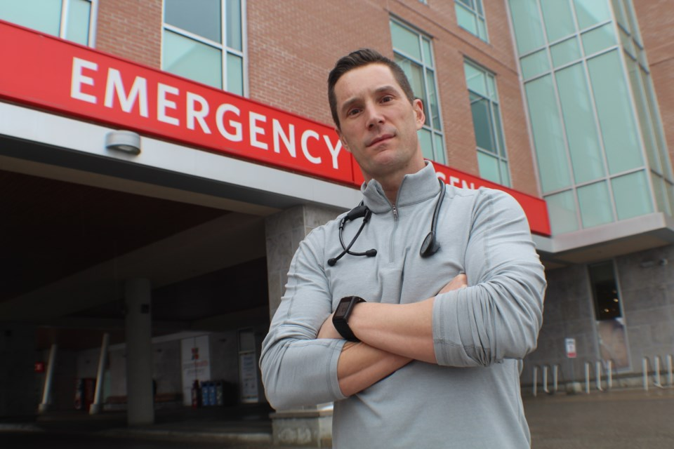 Dr. Chris Martin is an emergency and intensive-care physician at Royal Victoria Regional Health Centre in Barrie. Martin is also the hospital's director of intensive care.