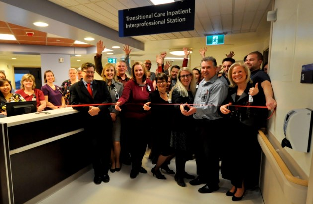 Transitional Care Unit Ribbon Cutting - Memo