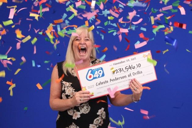 2017-11-24 Celeste Anderson lottery winner