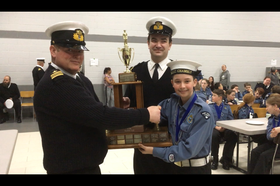 Photo submitted by Barrie Navy League