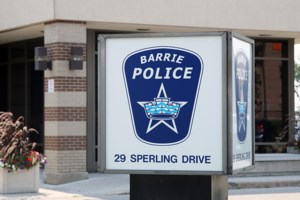 Police-reported crime statistics for Barrie