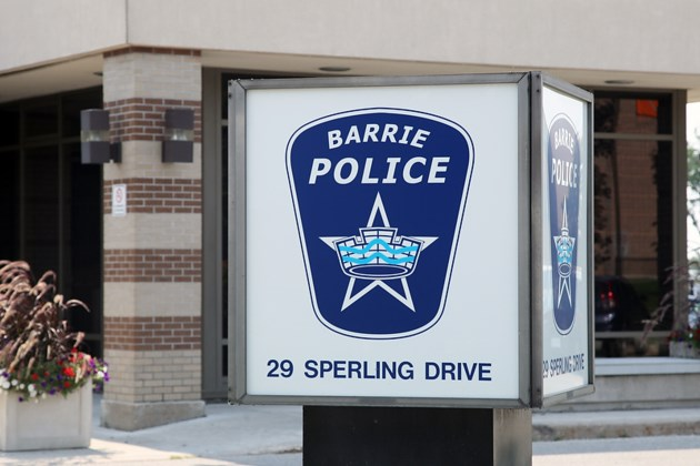 20150831 Barrie Police Station Sign KA 032