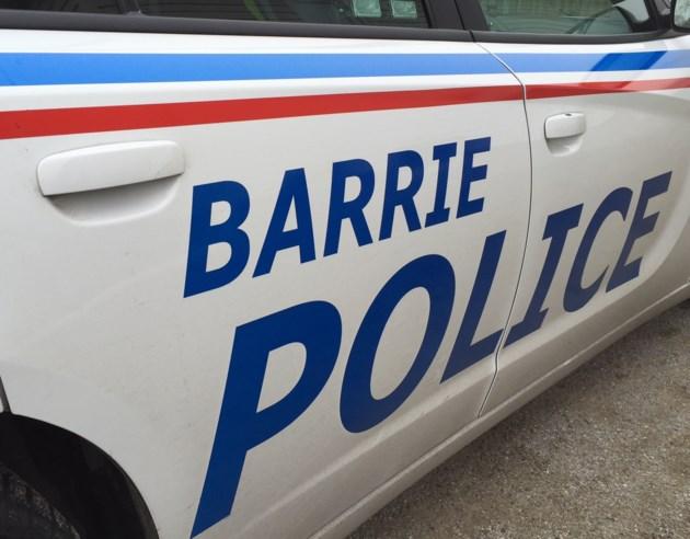Barrie police car
