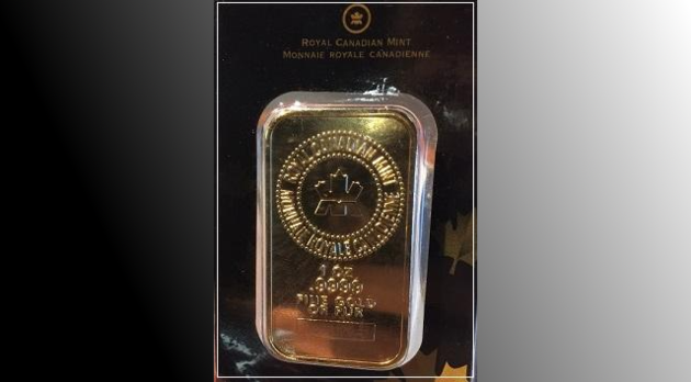 2017-12-22 Fake Gold Bar Barrie Police