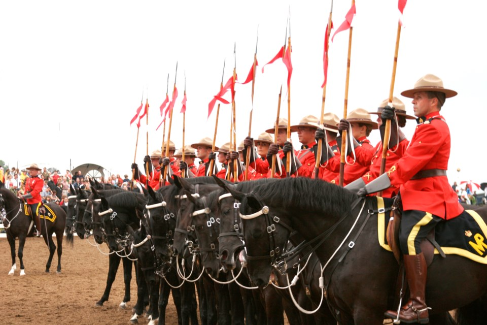 Northern Legacy Horse Farm in Whitefish hosts the RCMP Musical Ride June 9-10.