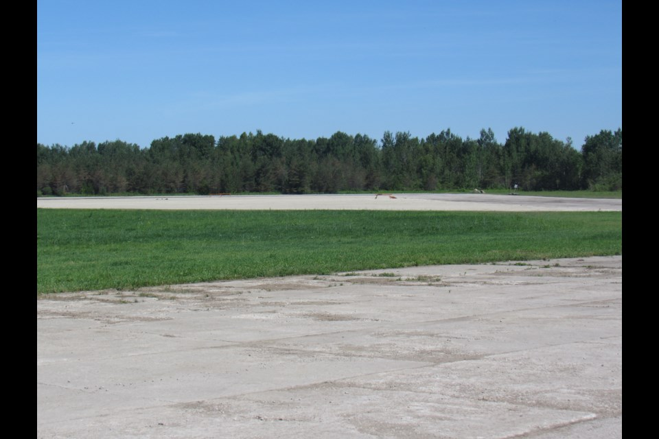 This is the area where the main stage would have been. Shawn Gibson/BarrieToday