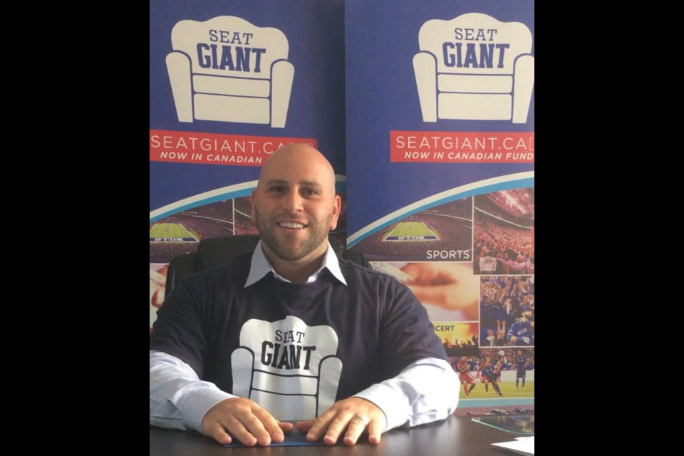 Josh Matlow is making SeatGIANT the place to get tickets to all your events. Photo supplied