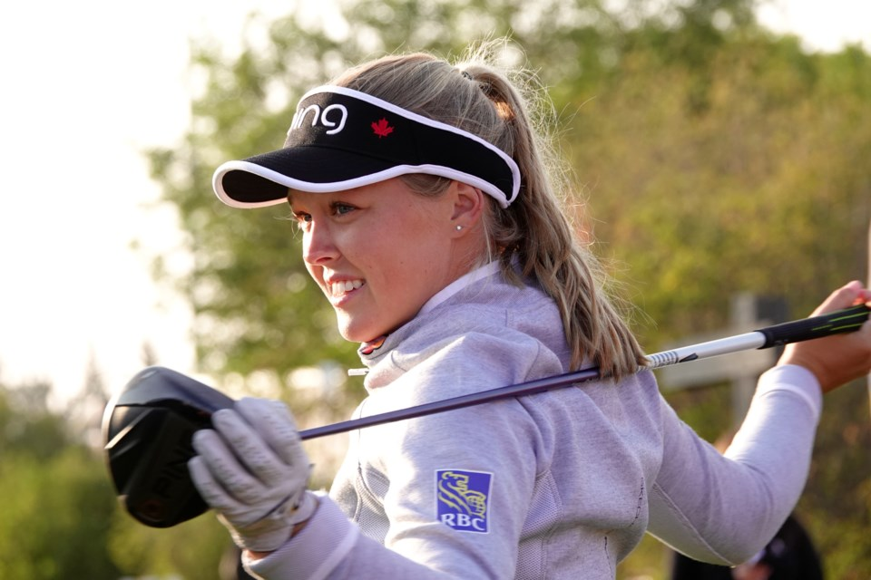 Brooke Henderson is competing in this weekend's Canadian Pacific Women's Open in Aurora. Bernard Breault/Golf Canada