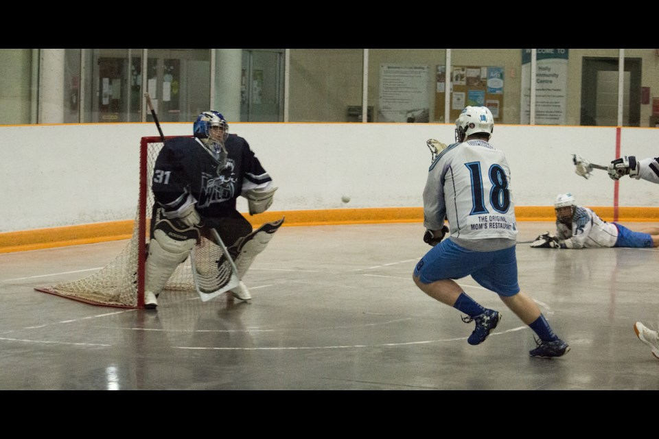 Barrie lacrosse players are well protected and now the club will do the same for the officials. Tyler Evans/VillageMedia