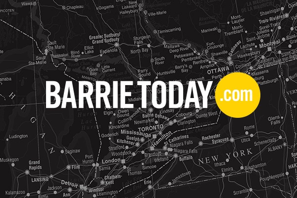 Barrie Today map 600x400