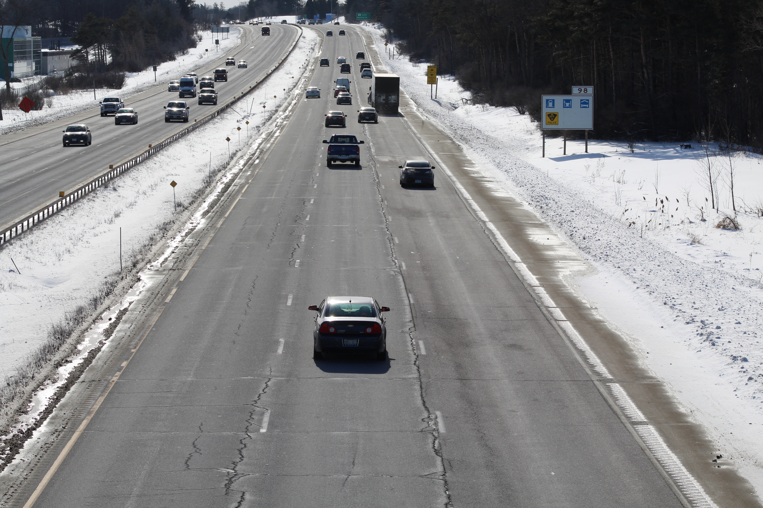 Highway 400 widening could eventually eliminate Barrie