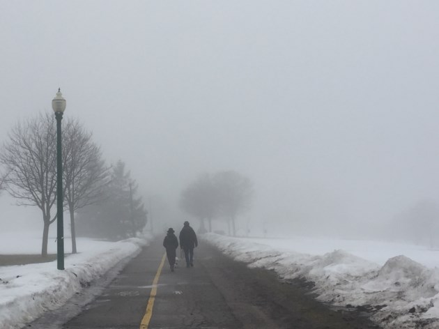 Dense Fog Could Cause Hazardous Driving Conditions for Chicago Area