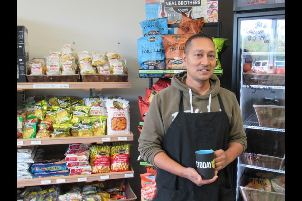 The Happy Mango owner Daren Rahim                                photo credit Shawn Gibson