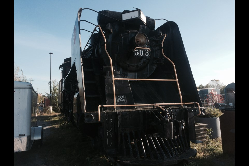 ONR steam locomotive #503 subject of possible heritage rail attraction