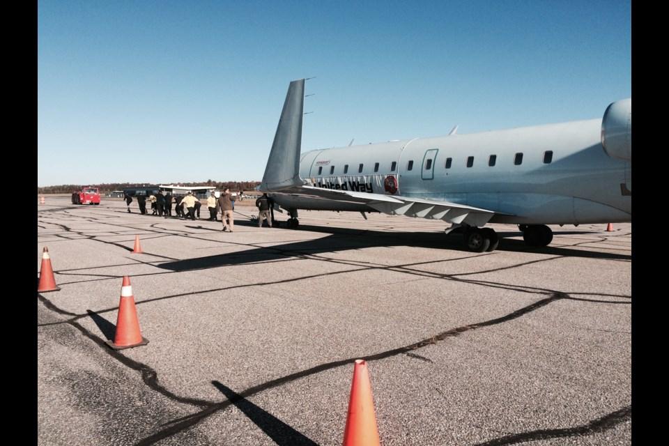 Inaugural 'Pull for United Way' fundraiser at North Bay Jack Garland Airport