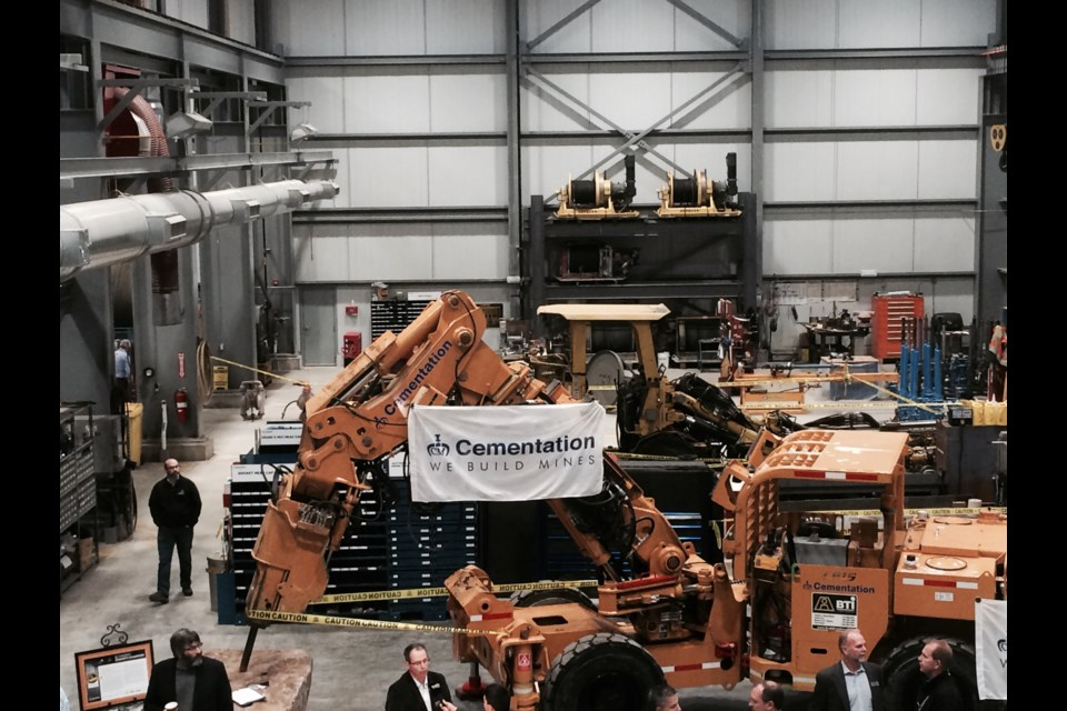 Cementation Canada opens new North American Maintenance facility