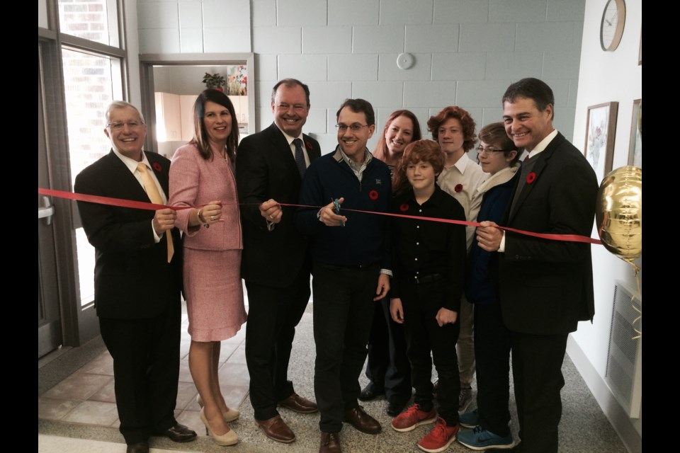 Grand opening of the Beauchamp Hub at the Children's Aid Society of the District of Nipissing and Parry Sound future OneSite location
