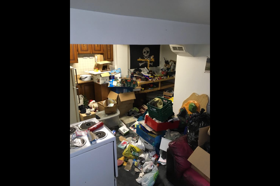Rental property owners facing over $40,000 in repairs, cleanup and replacement of stolen items. All pictures courtesy of the home owners.