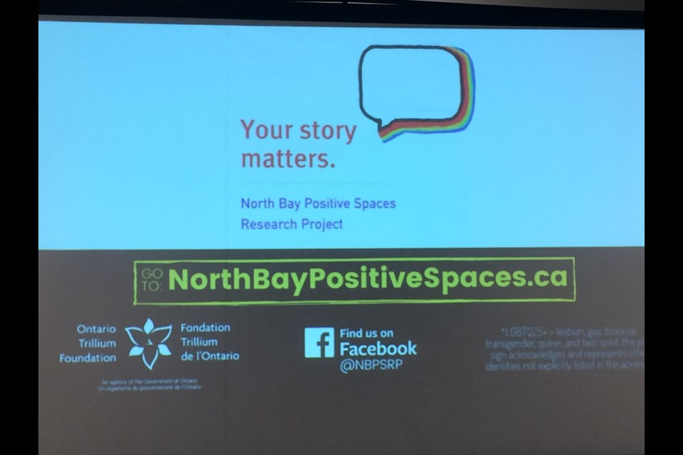 North Bay Positive Spaces Research Project shows need for safe, meaningful and inclusive services for local LGBTQ2S+ community