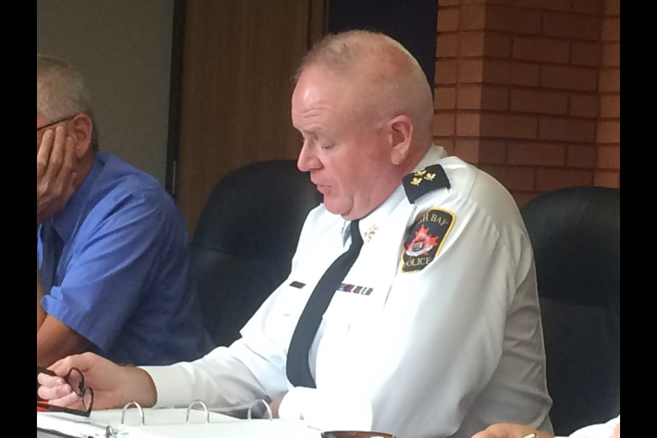 Chief Shawn Devine of the North Bay Police Service says  the service is as prepared as it can be for the legalization of recreational cannabis