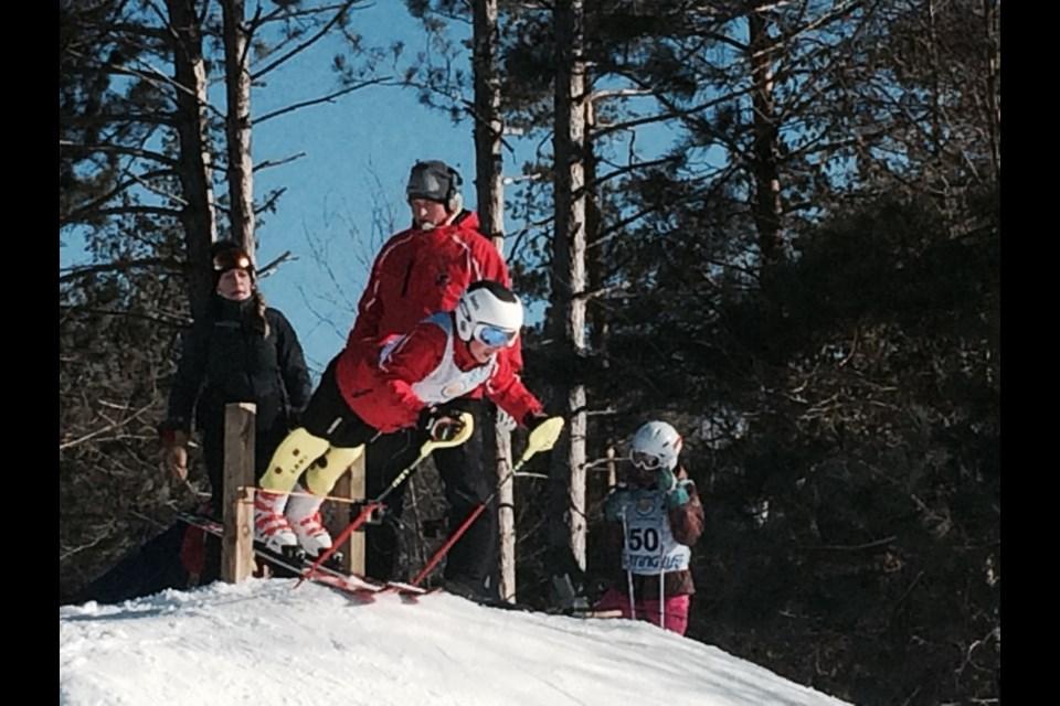 Over 130 ski racers from across the north compete in the inaugural Laurentian Ski Classic