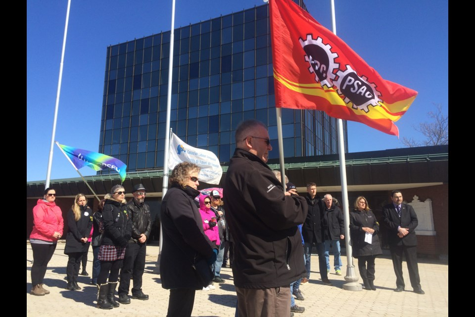 North Bay and District Labour Council observes National Day of Mourning