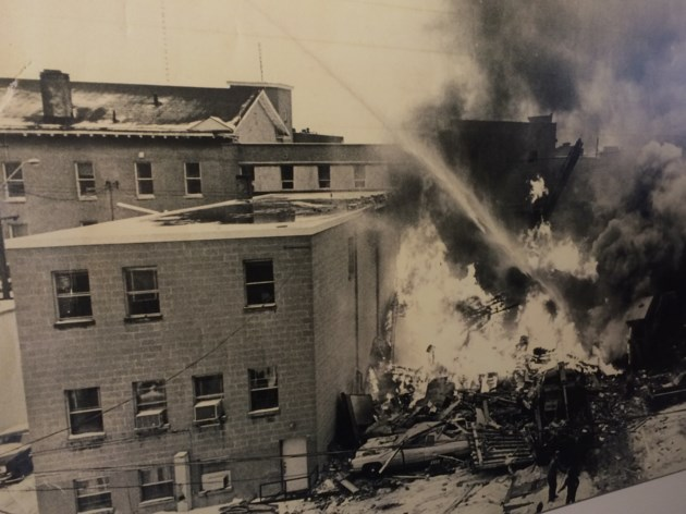Responding to the alarm---photos of North Bay firefighters battling major fires focus of exhibit