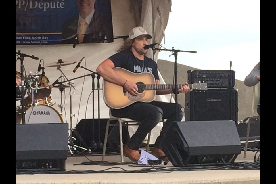 North Bay's Cory Marks headlines Friday night's lineup for the inaugural Bay Days Festival