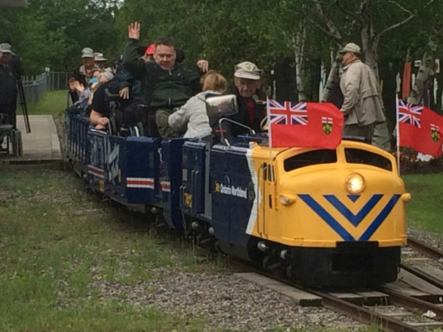 North Bay heritage train gets face lift