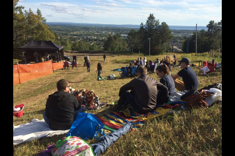 Music on the Slopes outdoor concert and family event