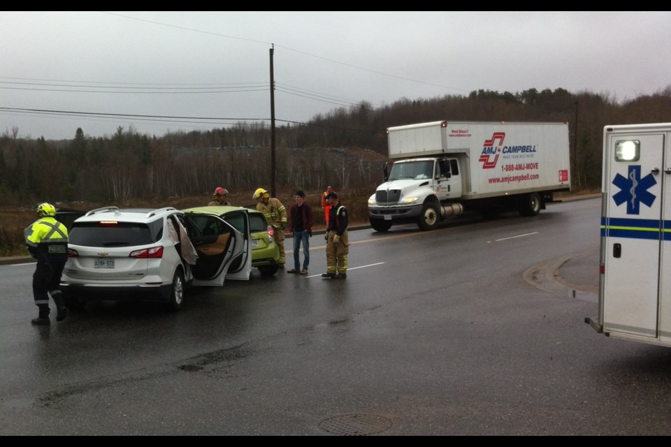 Accident at Bennett and Airport Rd. Courtesy Dan Robinson.