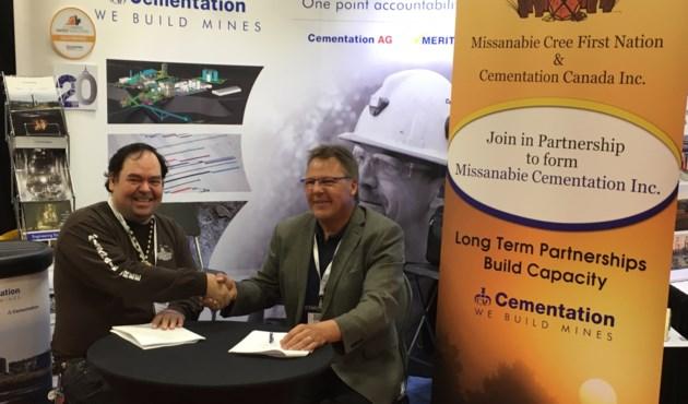 20180608 Chief Jason Gauthier (L) Eric Kohtakangas (R)
