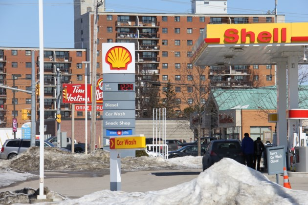 Gas prices near-record levels after carbon tax increase