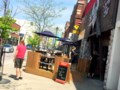 Sidewalk patios popping up downtown